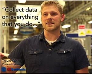 Collect data on everything you do