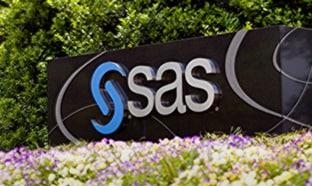 SAS Entry Signage