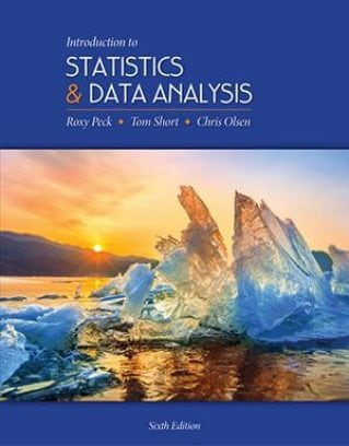 Introduction to Statistics and Data Analysis, 5th Edition