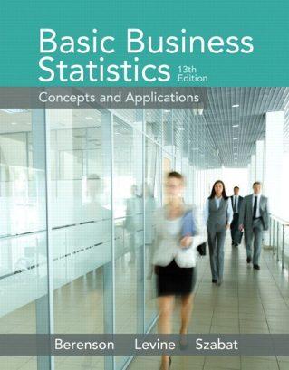 Basic Business Statistics, 13th Edition