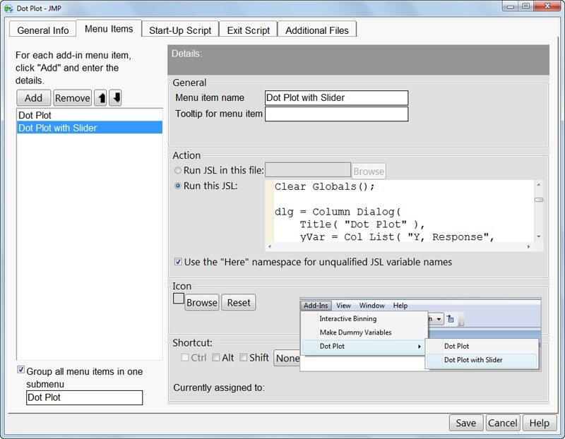 Create add-ins and customize menus (Add-in Builder)