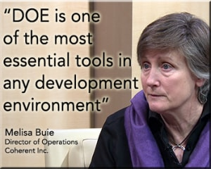 DOE is one of the most essential tools in any development environment