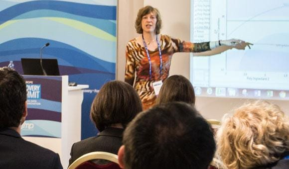 Maria Lanzerath presents at Discovery Summit Europe 2017
