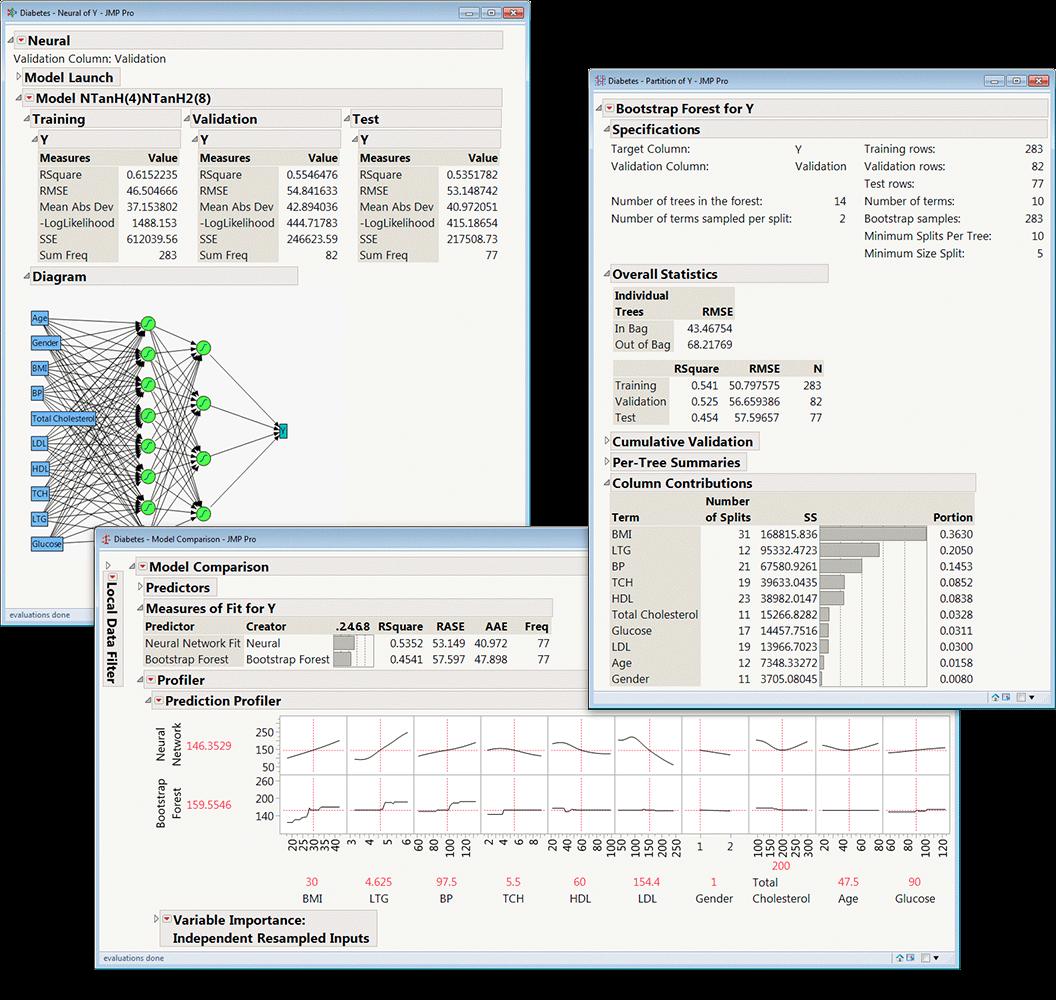 JMP Pro montage