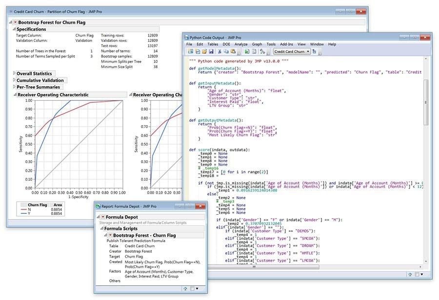 Formula Depot and Generate Scoring Code