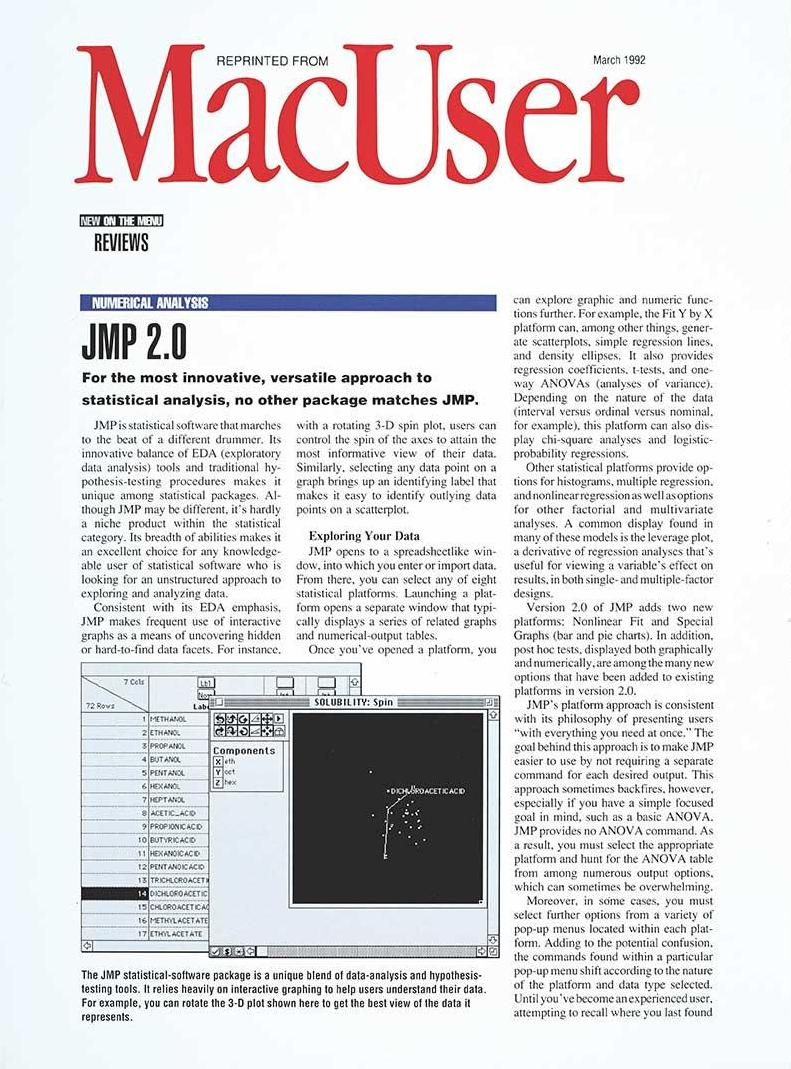 MacUser cover - 1992