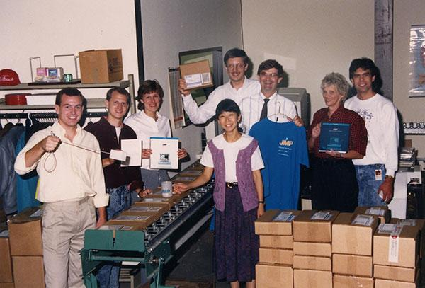 JMP Organization Photo - 1989
