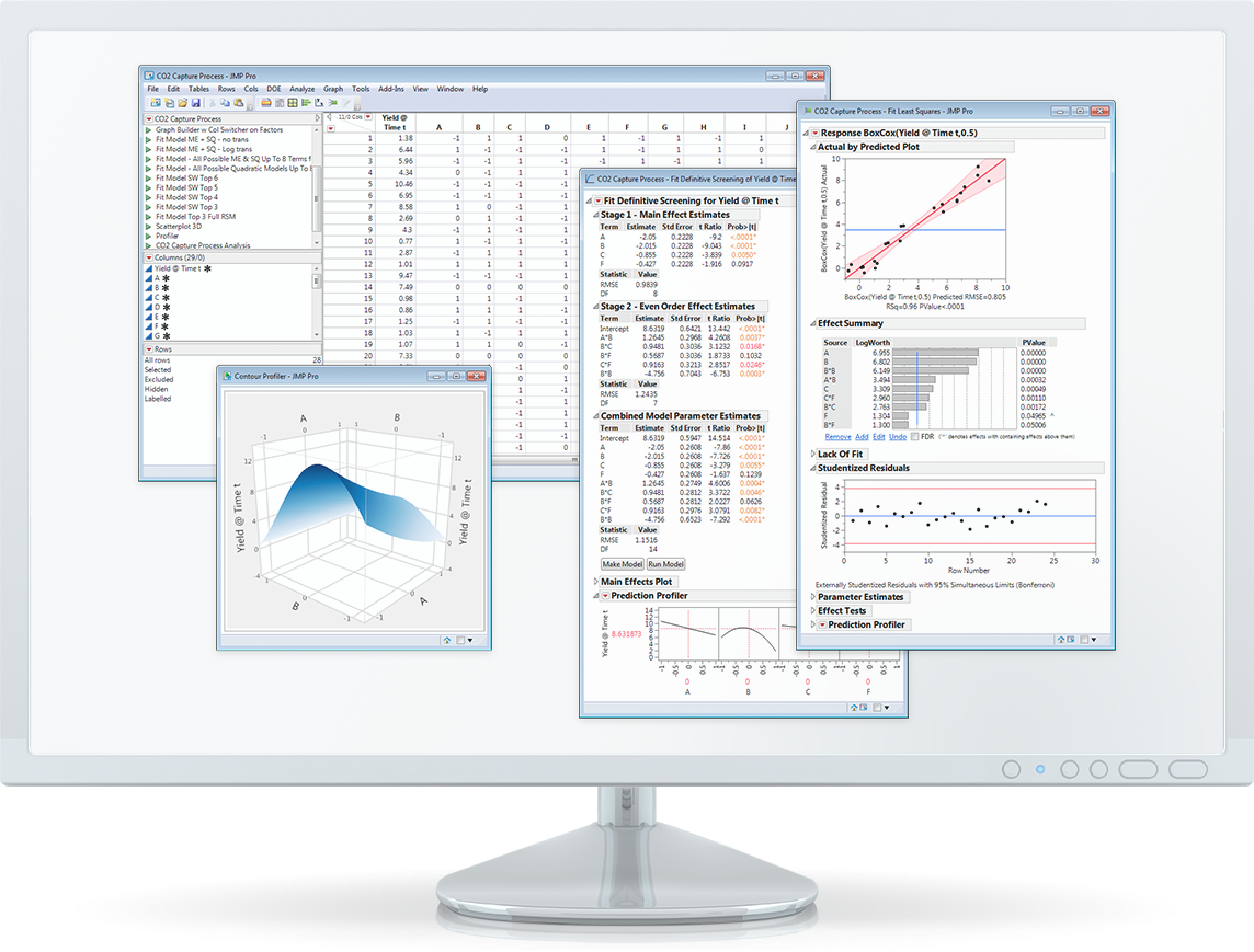 Discover JMP monitor montage