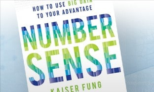 Numbersense by Kaiser Fung, Book Cover