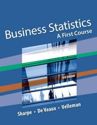 Business Statistics: A First Course, 3rd Edition