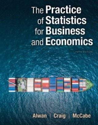 Practice of Statistics for Business and Economics, 5th Edition