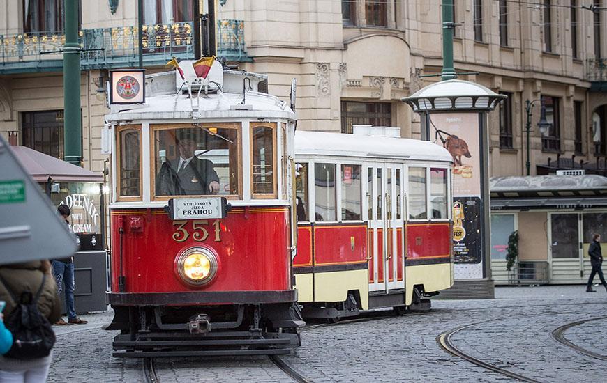 Historic tram