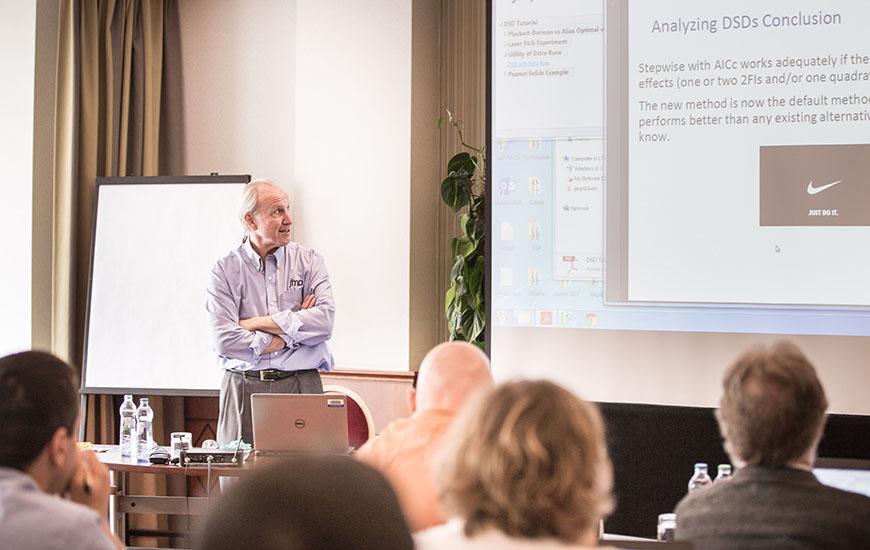 Brad Jones leads developer tutorial