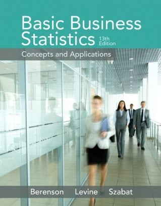 Basic Business Statistics, 13th Edition