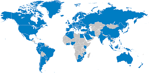 JMP customer map - 2019