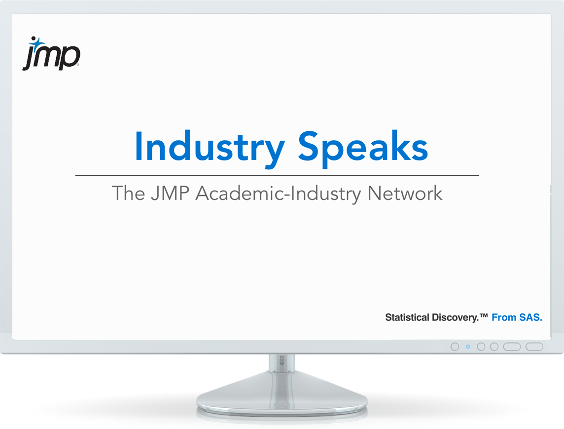 Learn more about case studies and other resources for learning and using JMP.