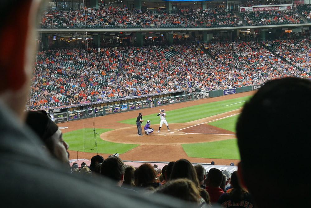 Houston Astros field