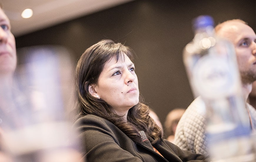 Attendee attendes Discovery Summit Europe at Amsterdam