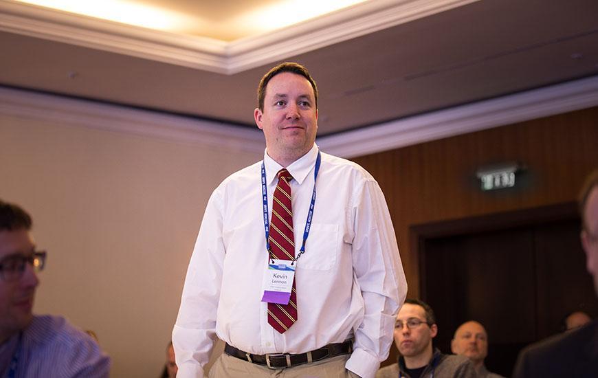 New Steering Committee Member Kevin Lennon