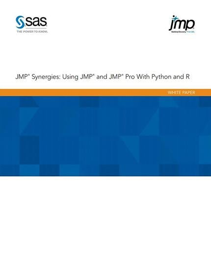 JMP Synergies: Using JMP and JMP Pro With Python and R