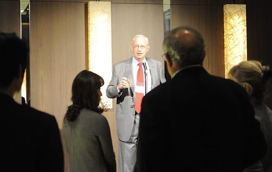 John Sall's toast