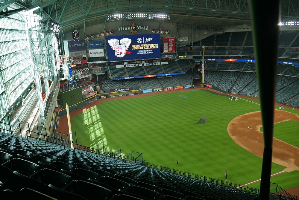Houston Astros field