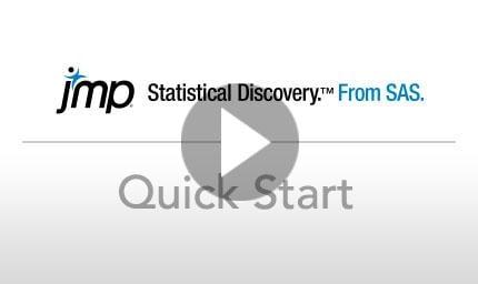 JMP Quick Start Video