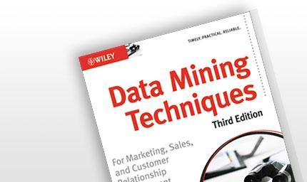Data Mining Techniques, Third Edition | JMP