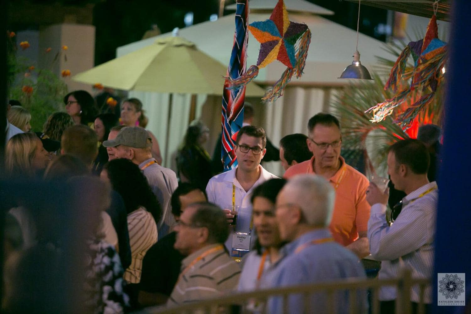 Discovery Summit dinner attendees