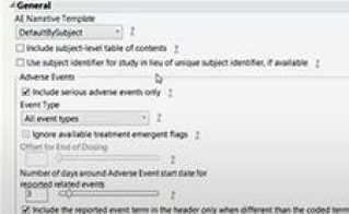 JMP Clinical: Generating Semi-Automated Patient Narratives for Regulatory Submission