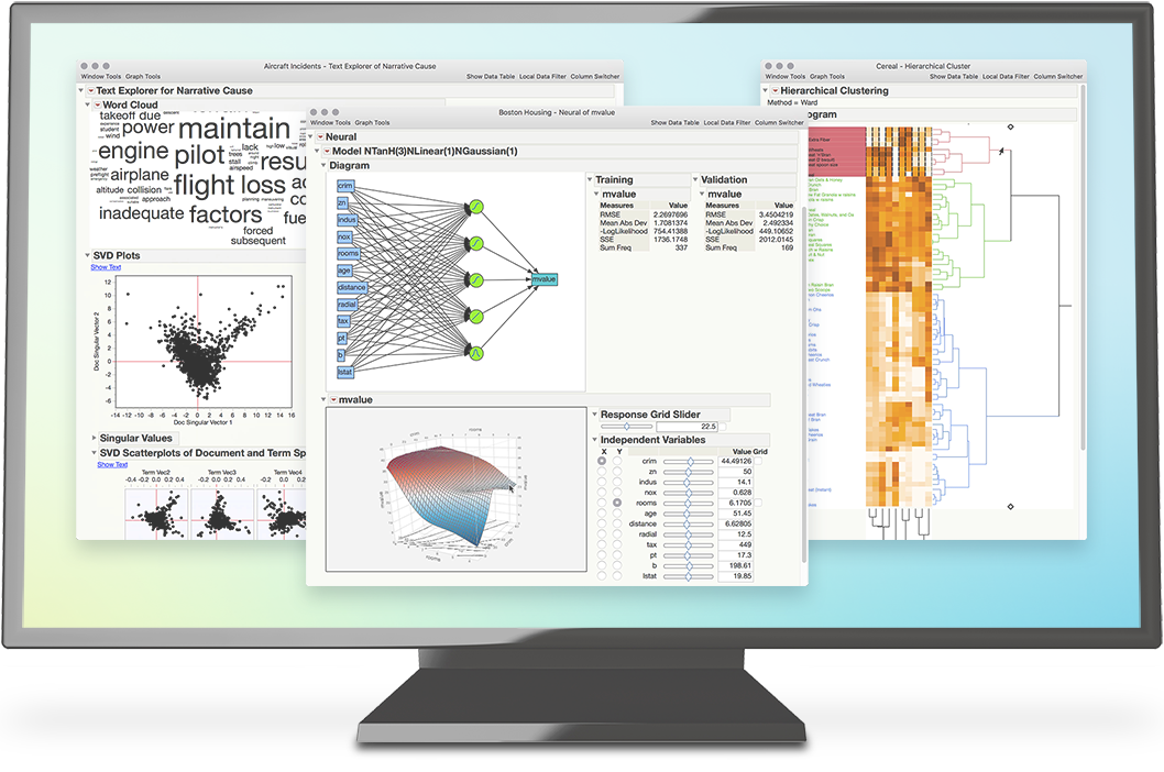 JMP Pro for Analytics in 60 Seconds