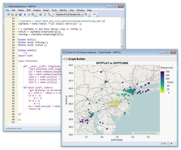 Interface to Python in JMP 14