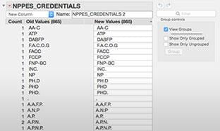 Data cleanup and wrangling made easier in JMP 14