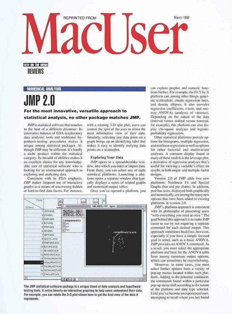 MacUser cover - 1992