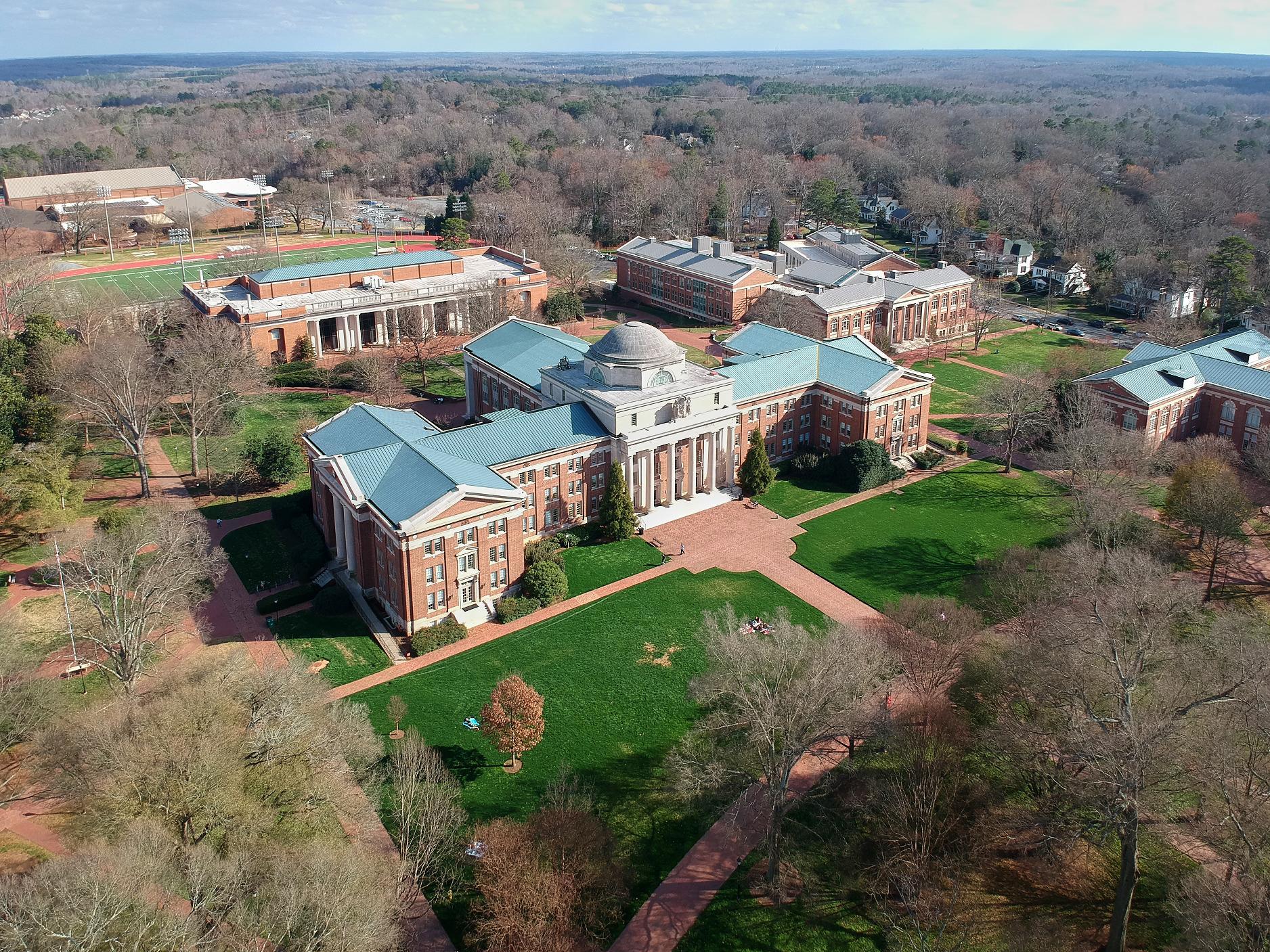Davidson College Campus