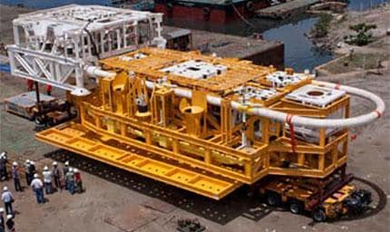 undersea drilling equipment
