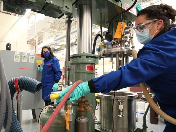 Parker LORD scientists make a lab batch