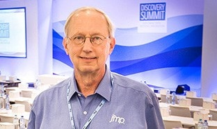 John Sall at Discovery Summit Brussels