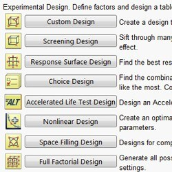 Design of experiments (DOE)