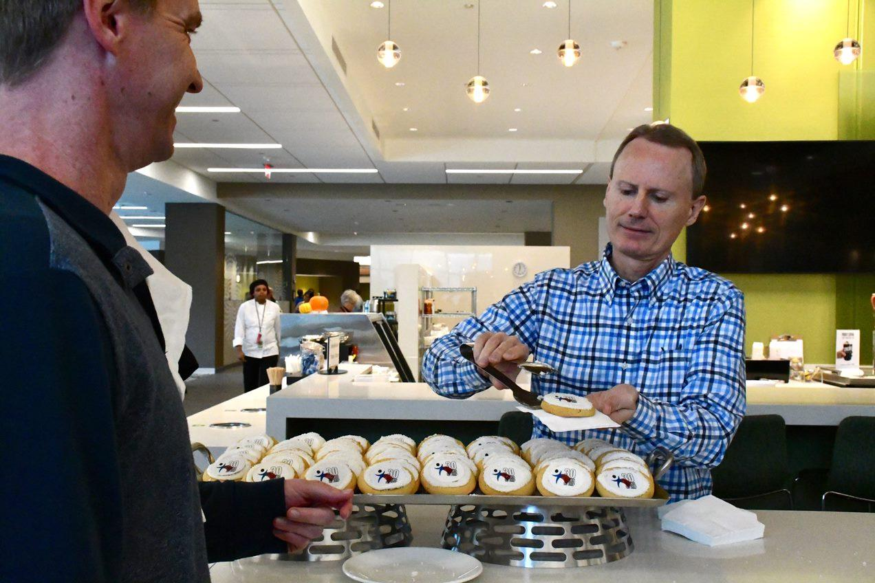 John Mosier with JMP Cookies