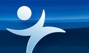 JMP Logo blue background