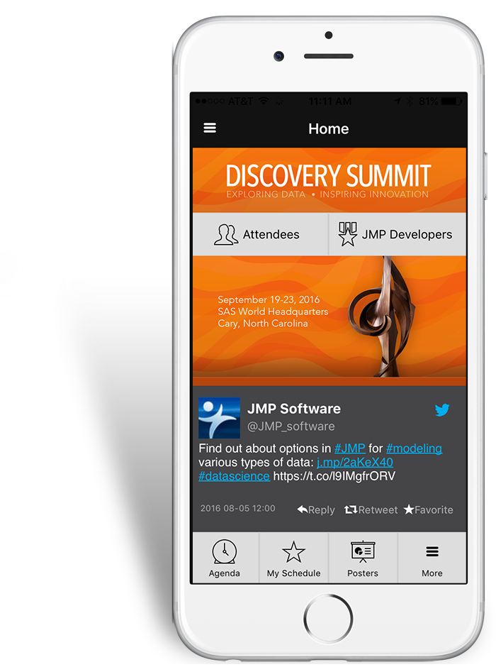 Discovery Summit 2016 iPhone app