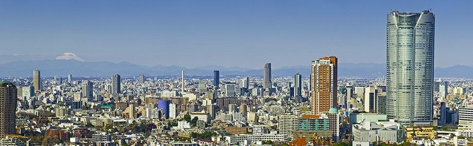 Buildings in Tokyo