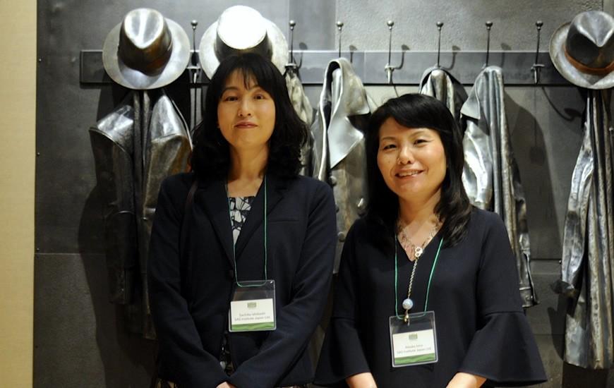 Sachiko Ishibashi and Atsuko Iono