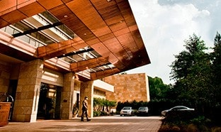 Umstead Hotel and Spa front entrance