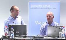Bradley Jones and Peter Goos at Explorers DOE