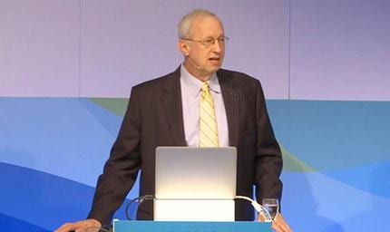 John Sall at Discovery Summit Frankfurt