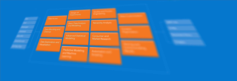 JMP Analytic Workflow chart angled