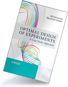 optimal design of experiments a case study approach Peter goos, department of mathematics, statistics and actuarial sciences of the faculty of applied economics of the university of antwerphis main research topic is the optimal design of experiments.