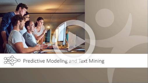 Predictive Modeling and Text Mining Overview Video